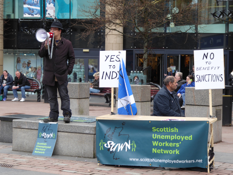 NO to Benefit Sanctions, YES to Independence