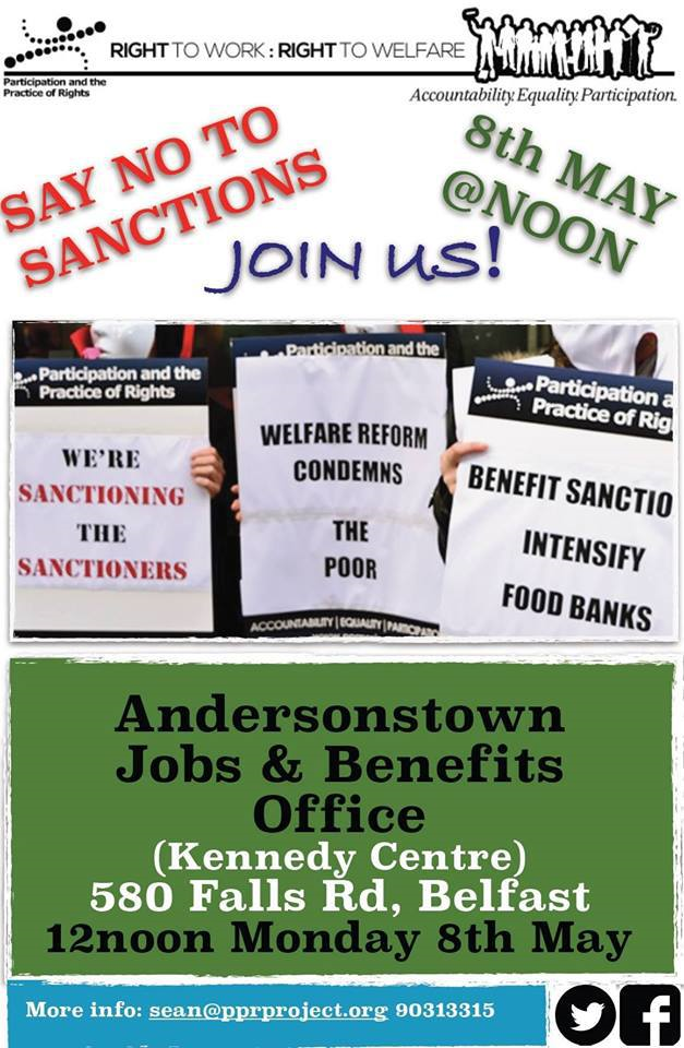 Protest: Say No To Sanctions