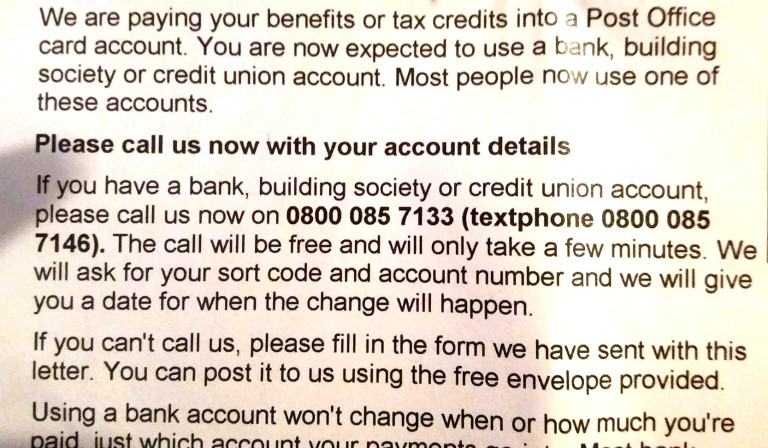 How to mislead –DWP-stylie