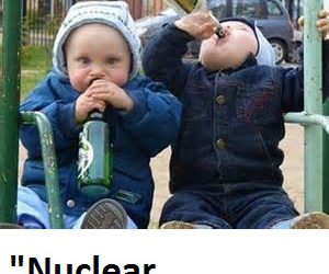 Binge drinkers less likely to worry about impending nuclear winter claims report