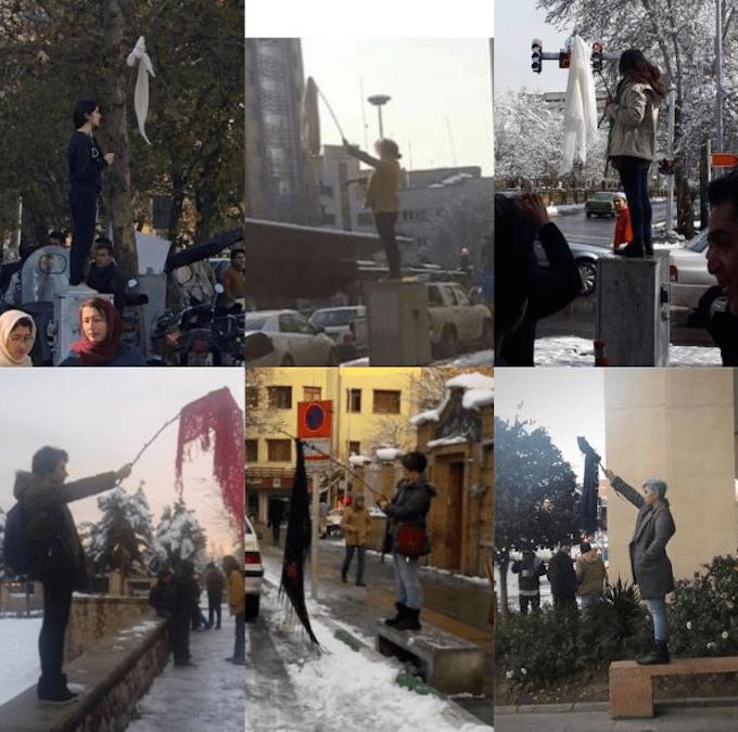 As Protests continue, half of Iranians say No to Compulsory Veils.