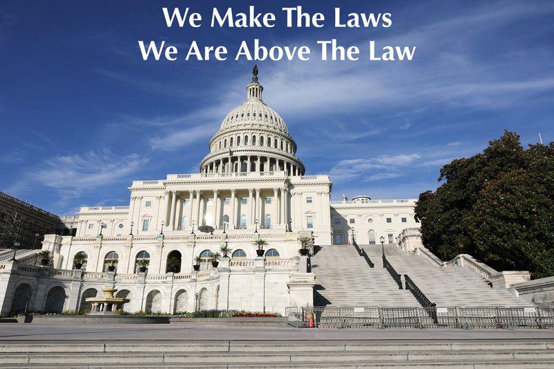 Senator Above The Law?